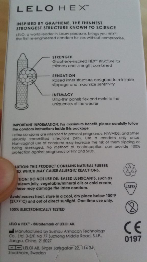 kondom sicherheit
